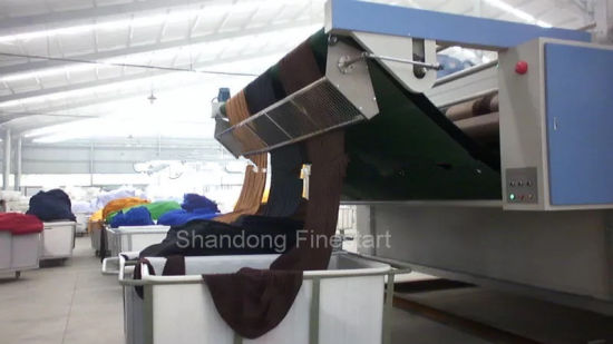 All Fabric and Cloth Textile Finishing Drying Machine