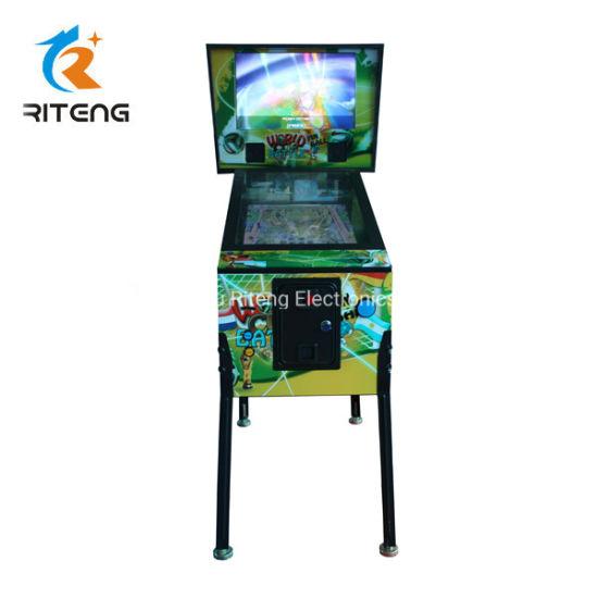 China World Cup 3D Virtual Pinball Game Machines for Club