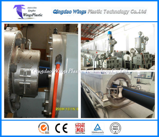 Ce & ISO PE Pipe Extrusion Line Plastic Pipe Manufacturing Plant Customized pictures & photos
