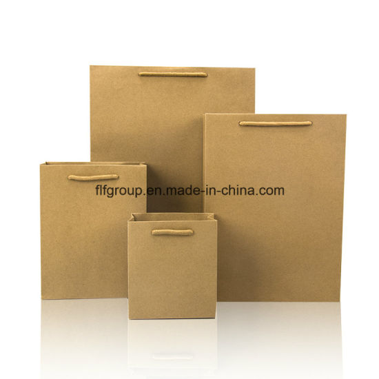 High Quality Branded Hot Sale Strong Kraft Paper Bag