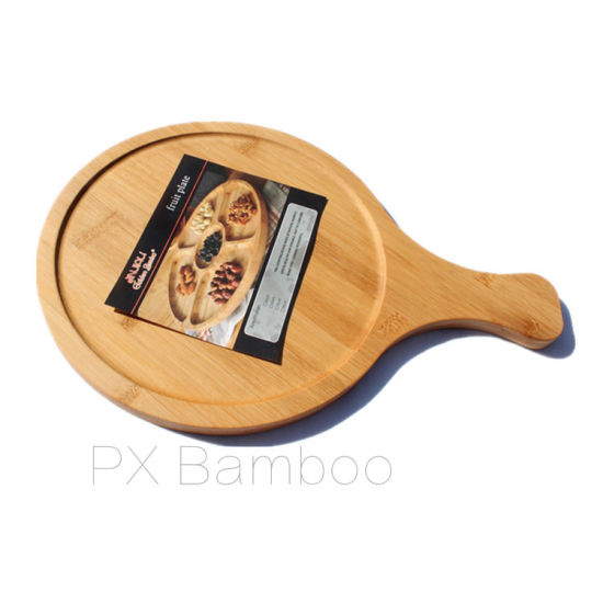 Pizza Board and Pizza Plate of Bamboo From China Factory pictures & photos