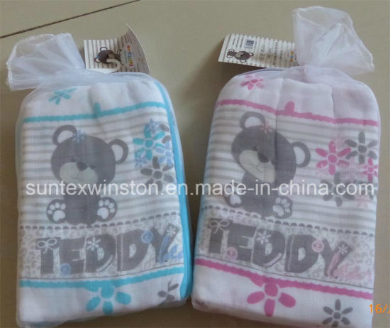 100% Cotton Muslin Baby Diaper, 3PCS Per Set pictures & photos