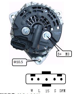 [SCHEMATICS_4NL]  China 24V 110A Alternator for Bosch Man Trucks Lester 12724 0124655011 -  China Alternator, Generator | Alternator Wiring Diagram Bosch |  | Ningbo Hi-Tech Altering Motor Co., Ltd.