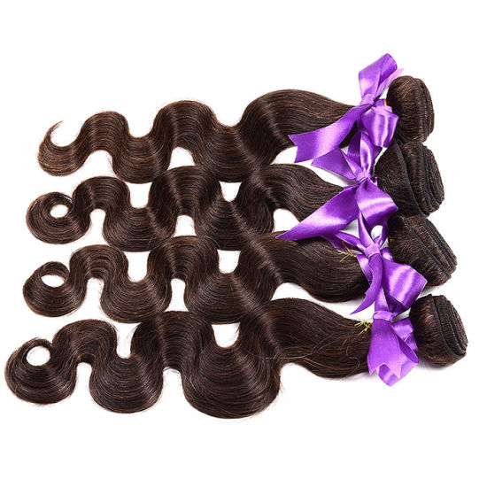 Ombre Brazilian Hair 3 Tone Ombre Human Hair Weave 1b/4/27# 1b/4/30# 7A Brazilian Body Wave Virgin Hair 1PC pictures & photos