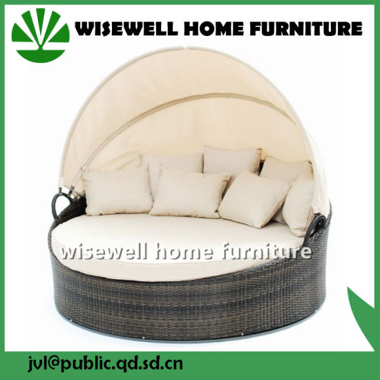 PE Rattan Outdoor Sofa Set (WXH-006) pictures & photos