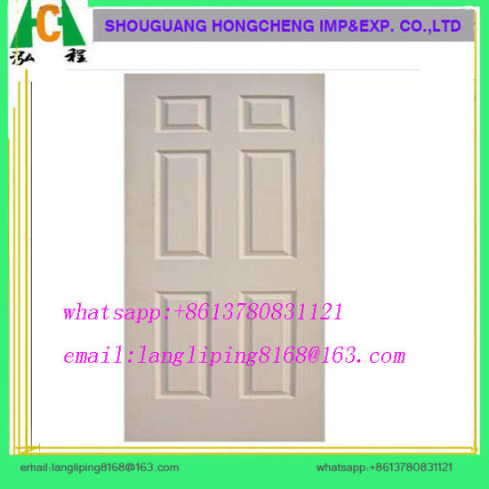 High Glossy Laminated MDF Door Skin pictures & photos