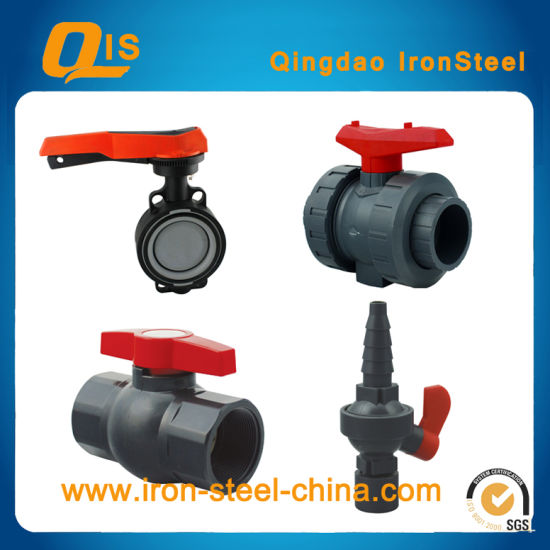 DIN, ASTM PVC Pipe Valve for Water Supply pictures & photos