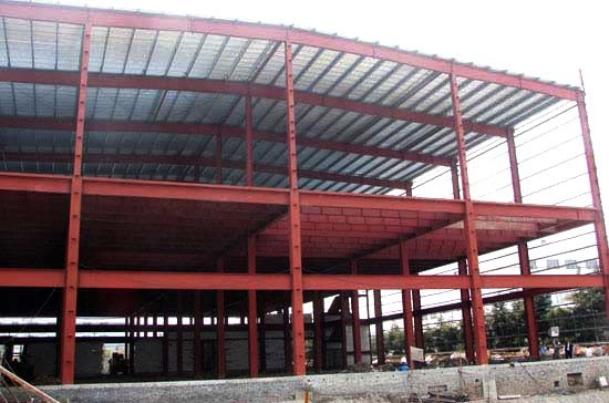 High Rise Steel Structure Frame Building Warehouse for Sale (SD-533)