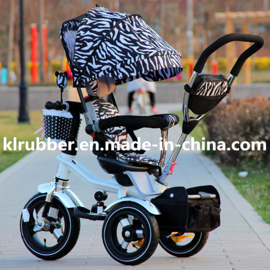 Wholesale Baby Tricycle Baby Stroller with Umbrella pictures & photos