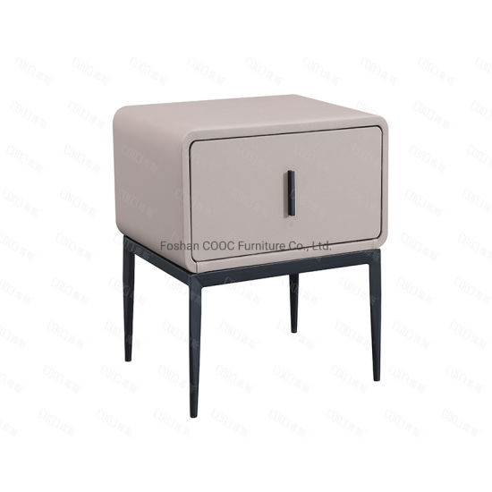 China Modern European Style Bedroom Furniture Artificial Leather Nightstands China Sofa Modern Furniture
