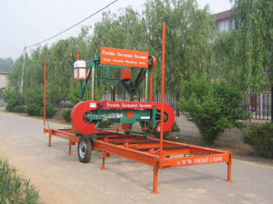 Portable Sawmill For Sale >> Hot Item Horizontal Band Saw Mills Portable Sawmill Sale