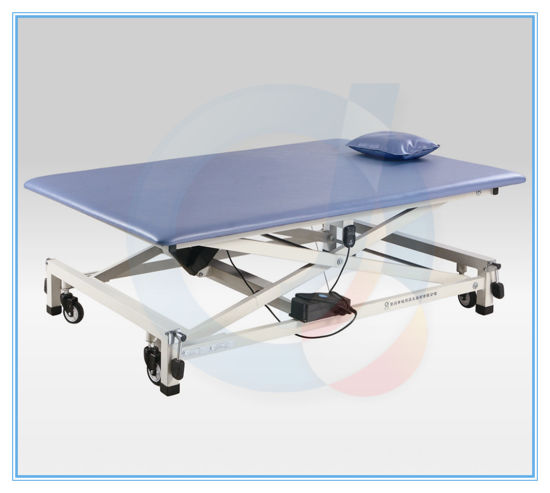 China Rehabilitation Electric MultiBodyPosition Foldable Lifting - Adjustable training table