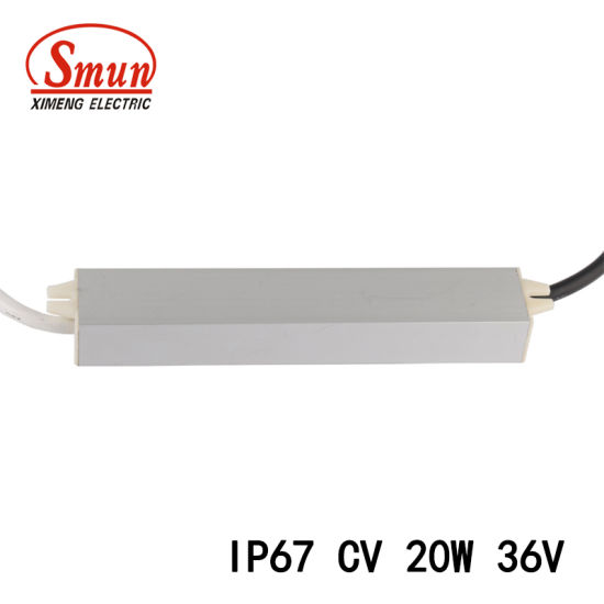 China Smv-20-36 20W 36VDC 0.6A Waterproof Constant Voltage Power ...