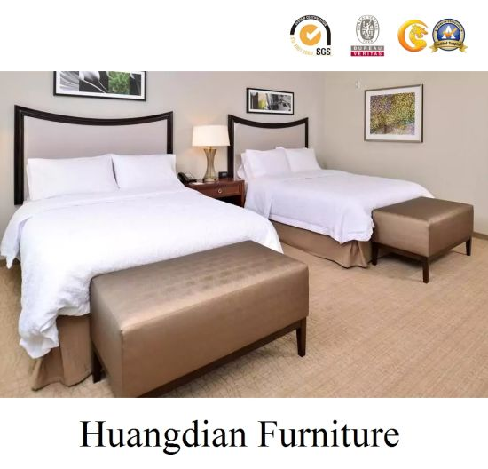 Chain Hospitality Cheap Price Wholesale Hotel Inn Bedroom Furniture (HD1008) pictures & photos