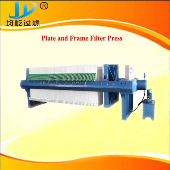 Sludge Dewatering Plate Frame Filter Press for Mine Production