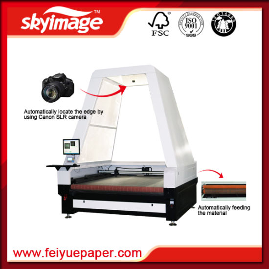 1860mm Single Head Fabric/Leather Auto Laser Cutting Machine pictures & photos