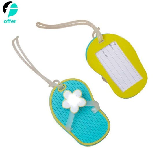 Colorful PVC Luggage Tags Labels ID Identifier Tag pictures & photos
