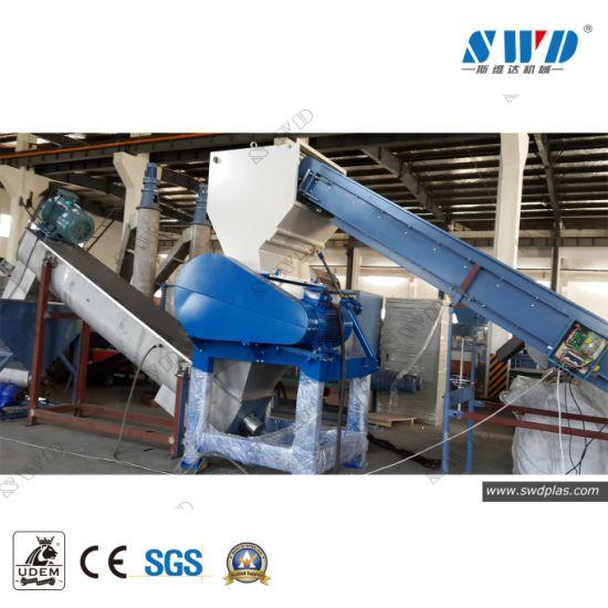 Waste Plastic LDPE Film, HDPE, PP PE Film Bags Pet Bottles Crushing Washing Drying Recycling Machine
