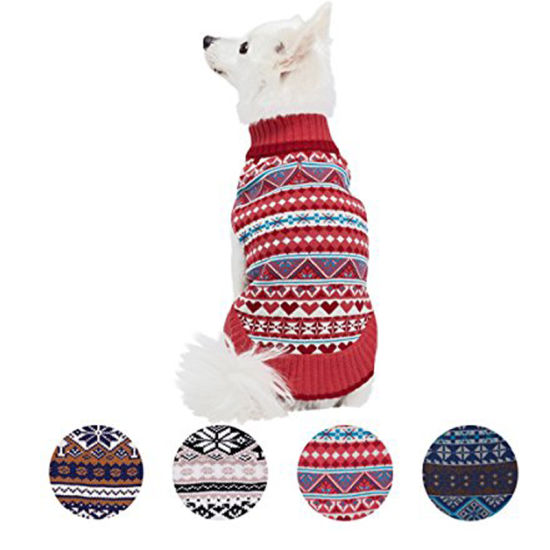 Newly Colorful Wool Autumn and Winter Dog Sweater pictures & photos