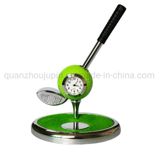 OEM Creative Golf Gifts Zinc Alloy Watches Brush Students Pot
