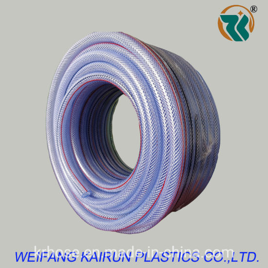 High Quality Plastic Soft PVC Irrigation Braided Hose for Water Transfer