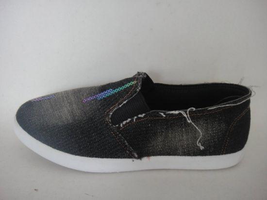 Canvas Casual Classical Basic Paillette Student Shoes