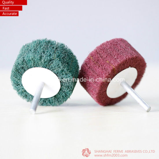 30*25mm Klingspor Ls309X Aluminum Oxide Abrasive Flap Wheel with Shaft pictures & photos