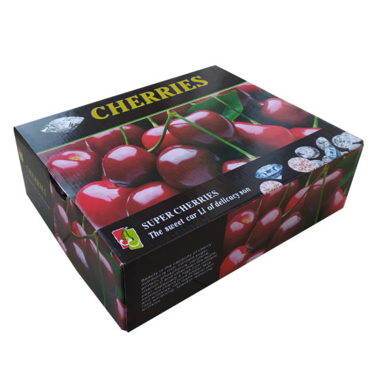 Custom Printing Cherry Fruit Packing Box