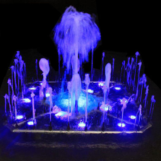 Small Size 1.5 Meters LED Musical Dancing Water Fountain pictures & photos