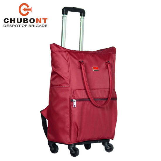 617b5e8535 Chubont 2018 New Light Weight Wheeled Shopping Trolley Bag pictures   photos