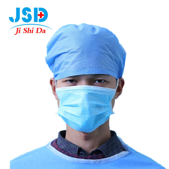 Disposable Medical Mask 3 Layers Non-Woven Protective Mask