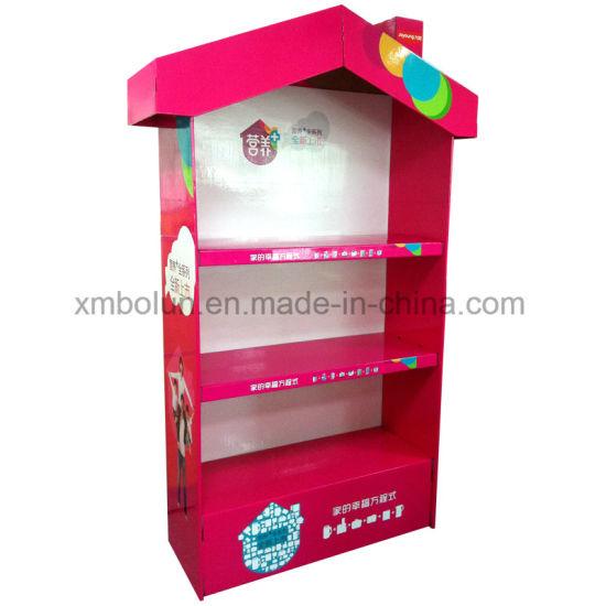 China Custom Christmas Tree Tabletop T Shirt Cardboard Displays