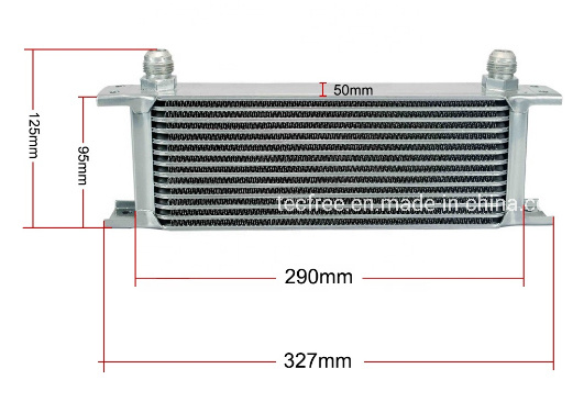 An10 Aluminum OEM 13 Row Transmiss Racing Radiator Oil Cooler pictures & photos