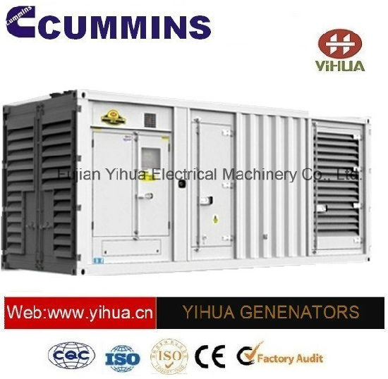 Ccec Silent Container Canopy Prime Power 500-1200kw 50Hz Cummins Genset[IC180206c]