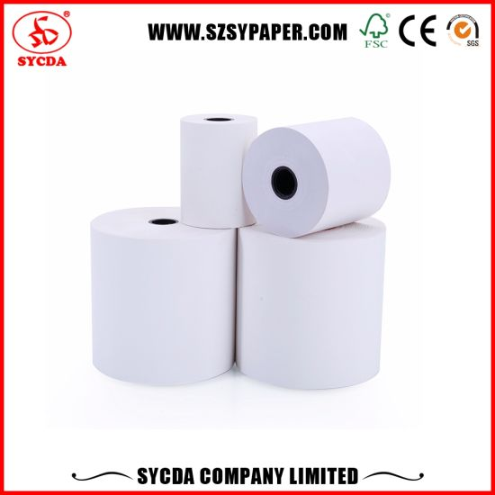 Printing 65g Bank Cash Paper Thermal Paper Roll