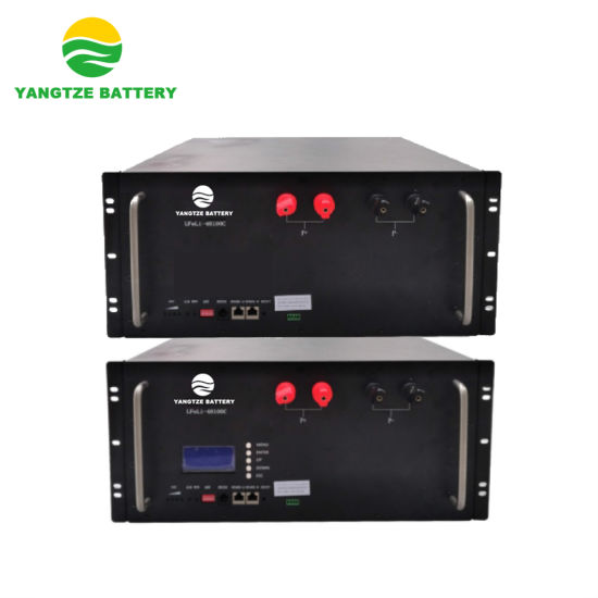 Yangtze 5000 Cycles Life Lithium Ion Battery 48V 100ah with Grade a Cells