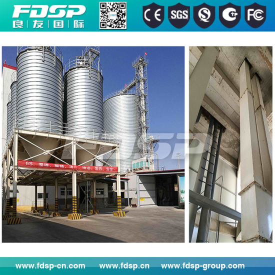Grain Storage Steel Silo with Auger Cleaner & Ventilation System pictures & photos