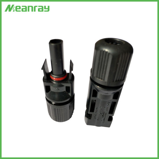Pin Mc4 Connector for Photovoltaic DC 1500V Connector with Copper Terminal Passed TUV UL Certificate pictures & photos