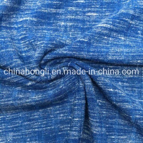Single Dye 11*3 Rib 40s Polyester/Rayon/Spandex 84/9/7, 260GSM, Knit Fabric for Dress Wear