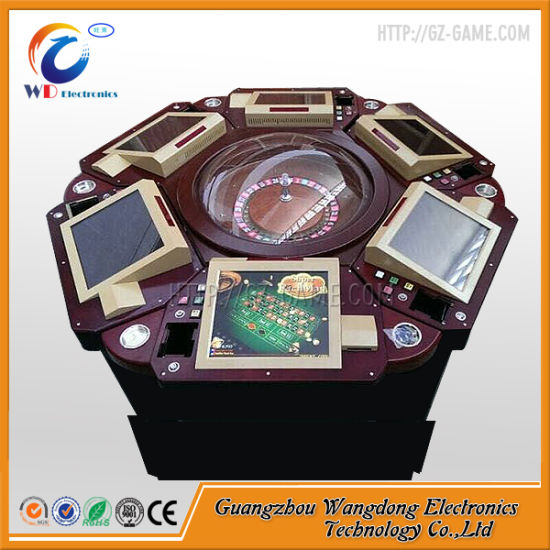 Gambling Pinball Double Zeros Trackball Electronic Roulette Machine From Guangzhou pictures & photos