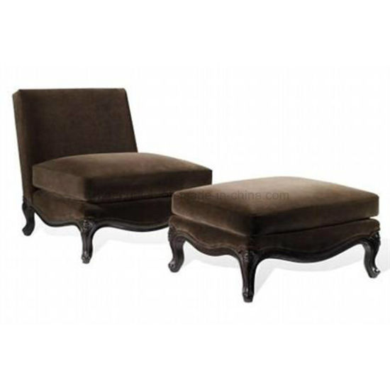 Hotel Living Room Bedroom Chaise Lounge Chair (SLC-01)
