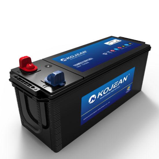 Good Quality Price N180mf 12V 180ah Standard Maintenance Free Lead-Acid Auto Car Vehicle Track Battery