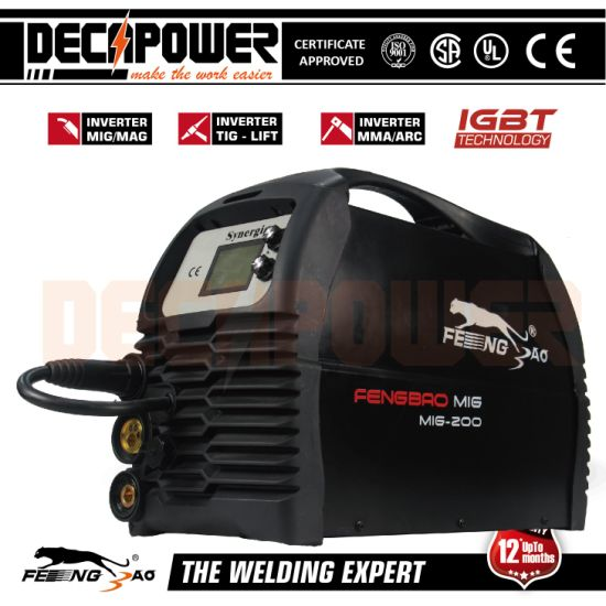 MIG 200 IGBT Inverter Welding Machine with LCD One-Touch Setting