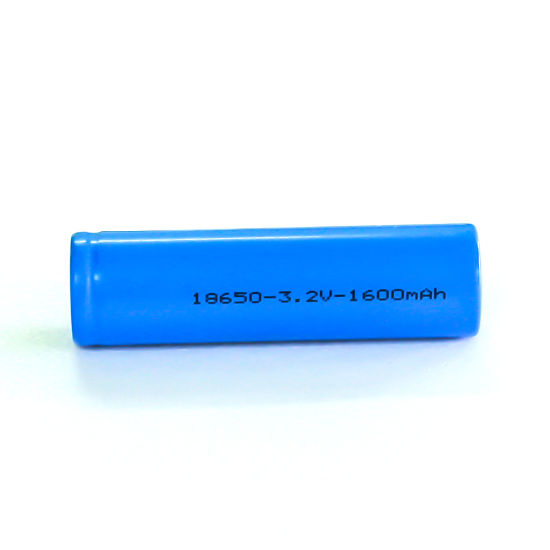 Factory Supply 1600mAh 3.2V 18650 LiFePO4 Lithium Battery Cell