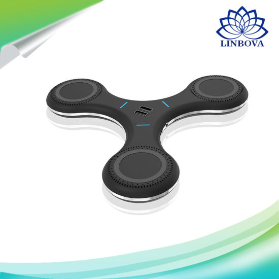 Fidget Spinner Fast Wireless Charge Design Support 5 Phones pictures & photos