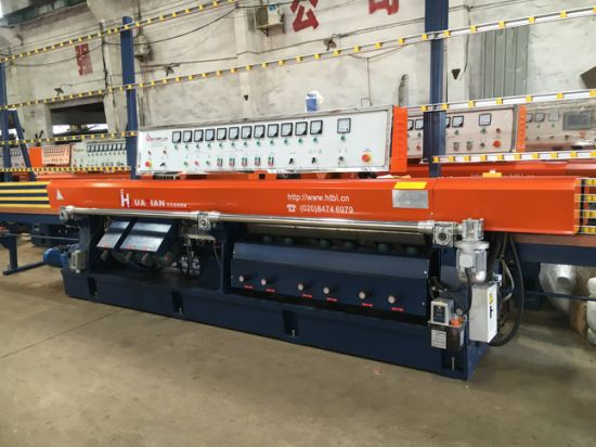 Bottero Bovone Automatic PLC 9 Spindles Straight Line Glass Edging Machine