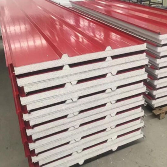 High Density New Partition EPS/Polyurethane Sandwich Panel for Roof and Wall pictures & photos