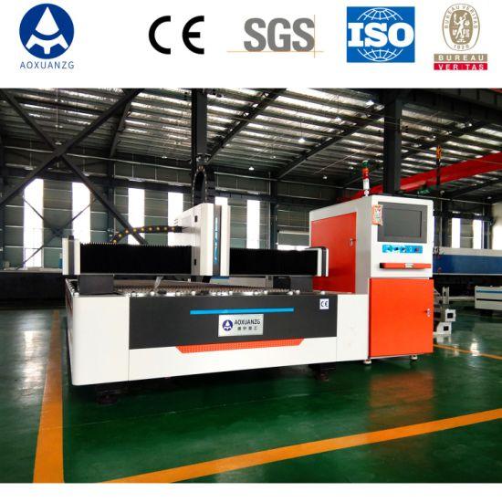 CNC Sheet Metal Plate Fiber Laser Cutting Machine 1000W Laser Cutter