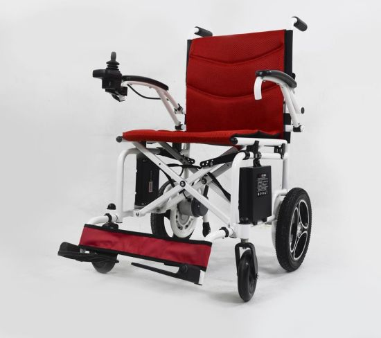 Ce Approved The Lightest Power Wheelchair with Foldable Design