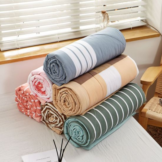 Queen Bed Comforter Set Quilts Wholesale Cotton Embroidery Comforter Set